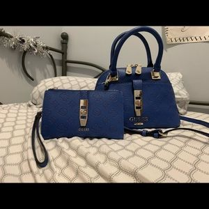 Brand New Authentic Guess Satchel and Wallet